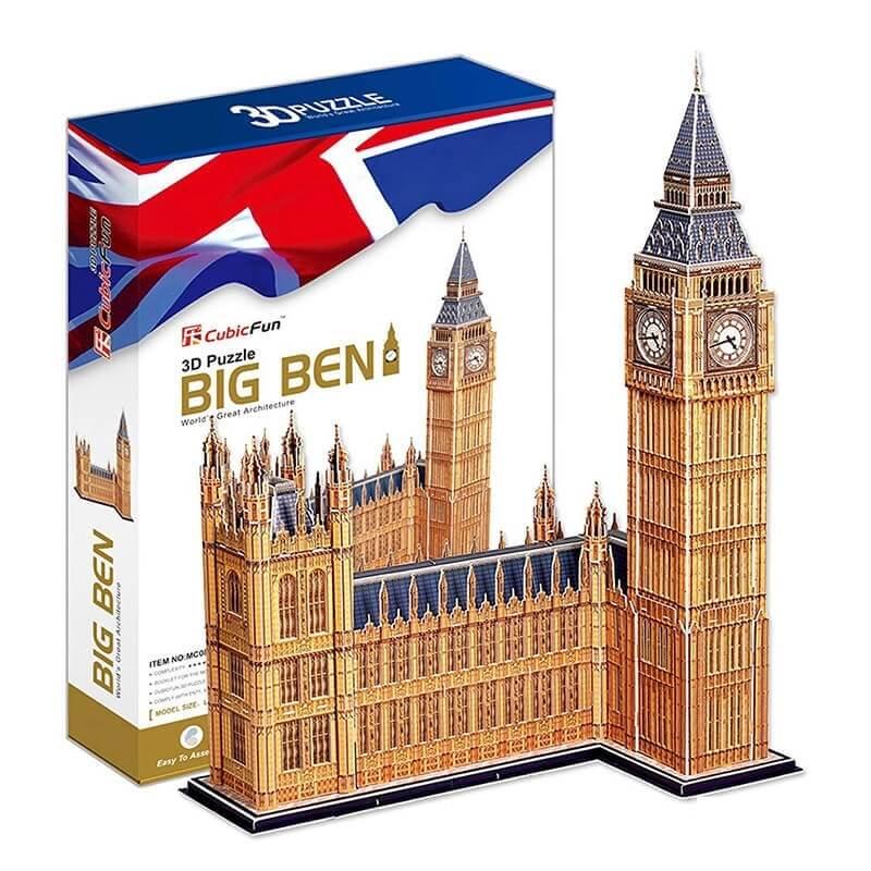 3D Παζλ Big-Ben 117 τεμ. (Μπιγκ Μπεν)
