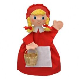 Κούκλα Κουκλοθεάτρου - Κοκκινοσκουφίτσα με Κοτσιδάκια