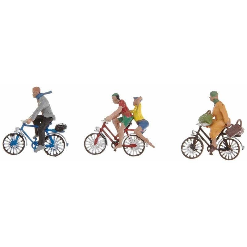Noch Σετ Φιγούρες - Ποδηλάτες για Μακέτα