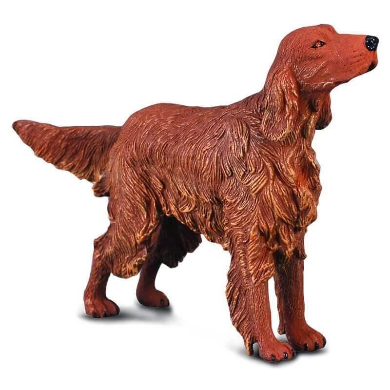Collecta Ζώα Σκυλιά - Ιρλανδικό Κόκκινο Σέτερ