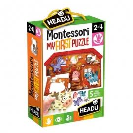 """Headu """"Το Πρώτο μου Παζλ"""" - Εκπαιδευτικό Επιτραπέζιο Montessori"""