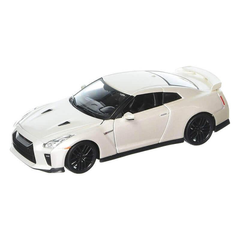 Bburago 1:24 Nissan GT-R (2017) άσπρο
