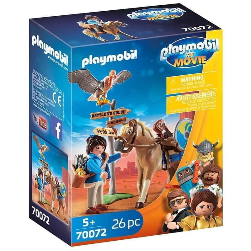 Playmobil the Movie - Η Μάρλα με το Άλογό της (70072)