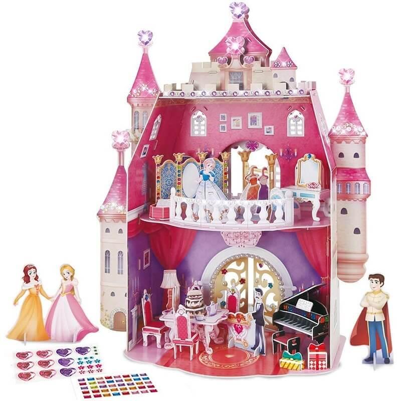 3D Παζλ Princess Birthday Dollhouse 95 τεμ.