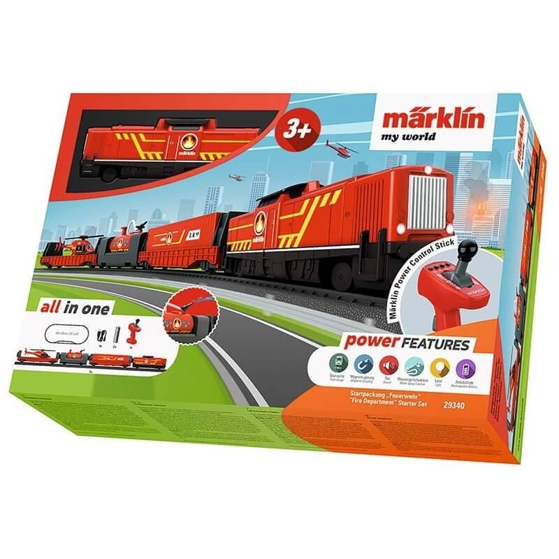 """Σετ Τρένο """"Fire Department"""" Märklin my world 3+"""