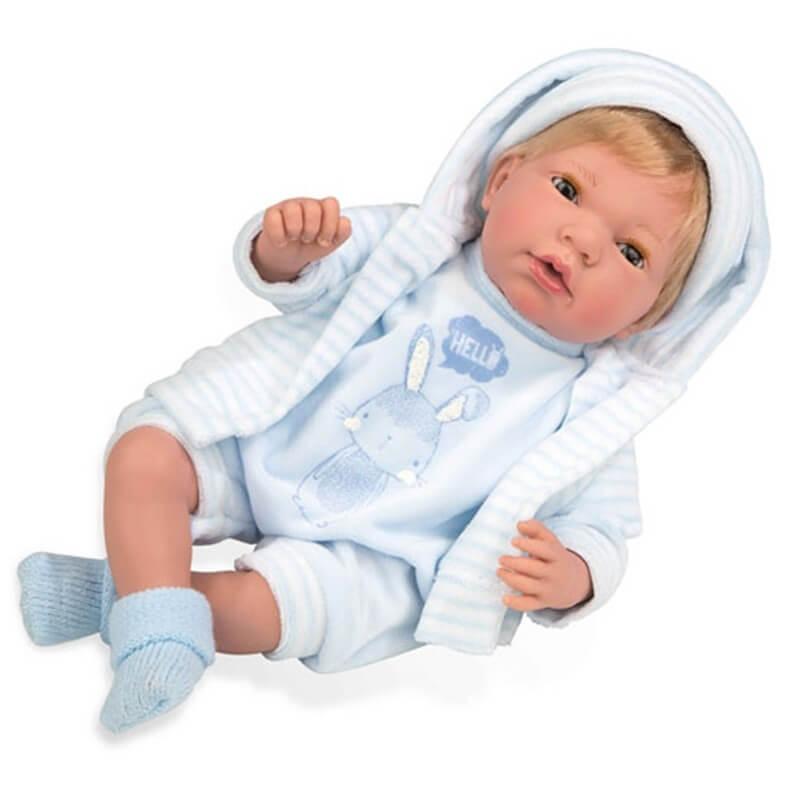 Μωρό με Πιπίλα, Ήχους, Κλείσιμο Ματιών Andie 38 εκ (50266)