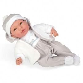 Μωρό με Πιπίλα, Ήχους, Κλείσιμο Ματιών Andie 38εκ (50261)