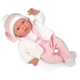 Μωρό με Πιπίλα, Ήχους και Κλείσιμο Ματιών Andie 38 εκ (50260)