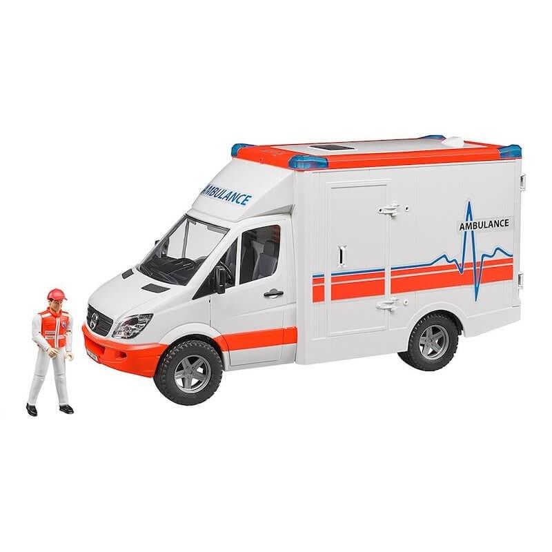 Bruder - Aσθενοφόρο Mercedes Sprinter με οδηγό