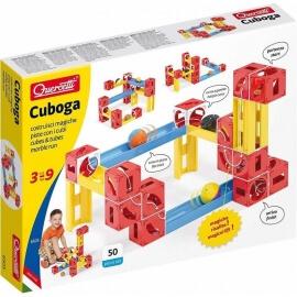 Κατασκευή Κατρακύλα με Μπίλιες Quercetti Cuboga Premium 6505
