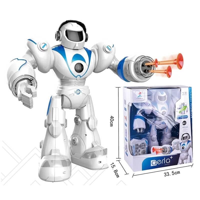 Ρομπότ Τηλεκατευθυνόμενο με Ήχο, Κίνηση και Εκτοξευτή