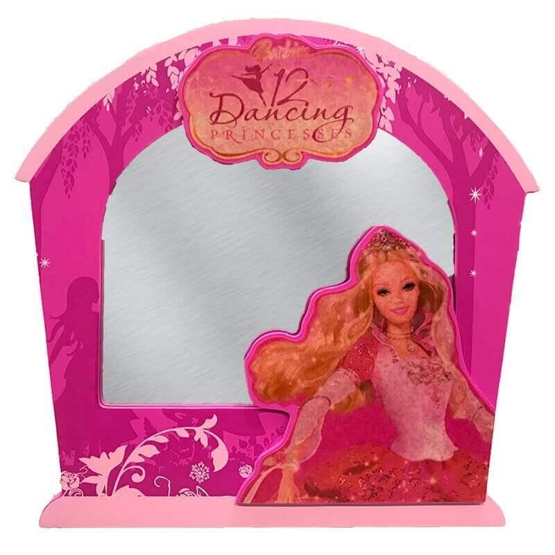 Ξύλινος Καθρέφτης Barbie Dancing Princess