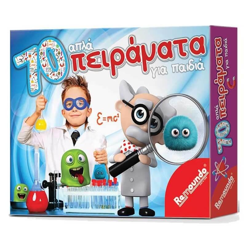Επιτραπέζιο 70 Απλά Πειράματα για Παιδιά