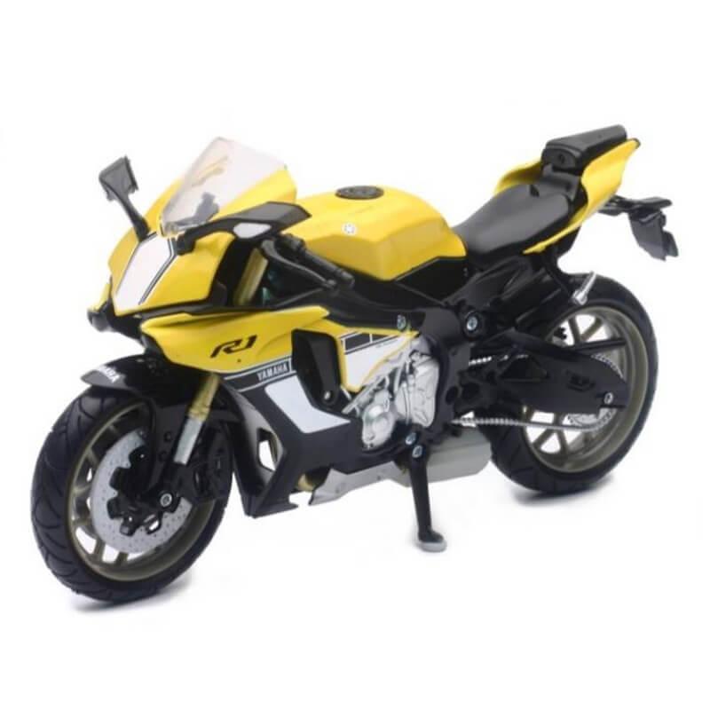 Μοτοσυκλέτα NewRay Yamaha YZF-R1 1/12 Κίτρινη