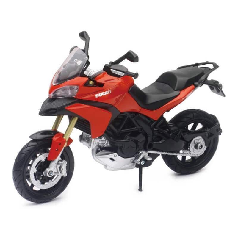 Μοτοσυκλέτα NewRay Ducati Multistrada 1200 S Pikes Peak 1/12 Κόκκινη