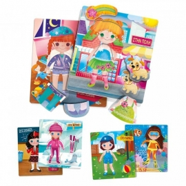 "Headu ""Οι Κουκλίτσες"" Εκπαιδευτικό Επιτραπέζιο Montessori"