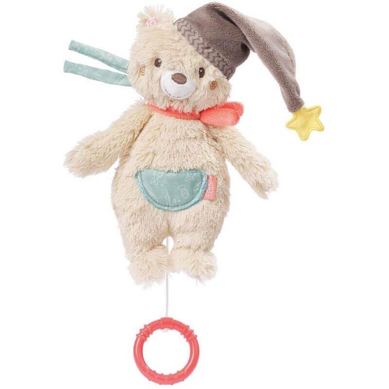 Μουσικό Αρκουδάκι Νανουρίσματος Bruno - Fehn