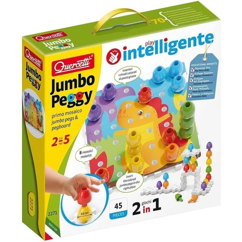 Πρώτα Εκπαιδευτικά - Jumbo Peggy 45τεμ.