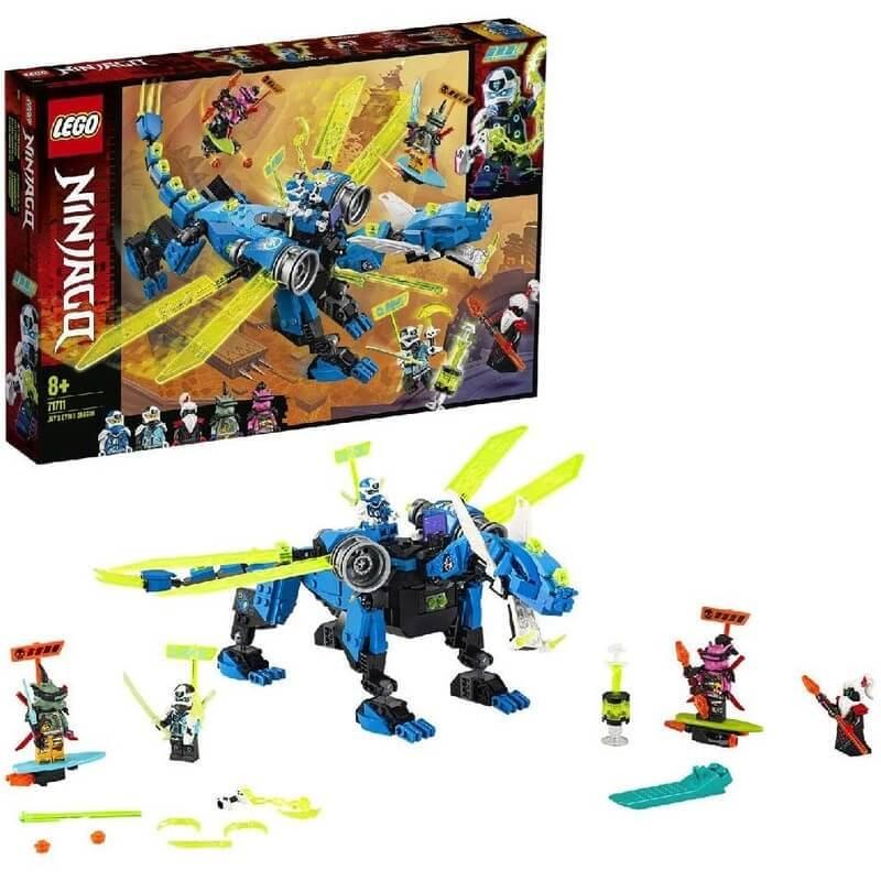 Lego Ninjago - Κυβερνοδράκος του Τζέι (71711)