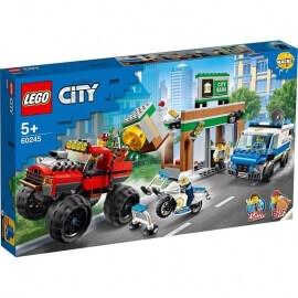 Lego City - Ληστεία Monster Truck της Αστυνομίας (60245)