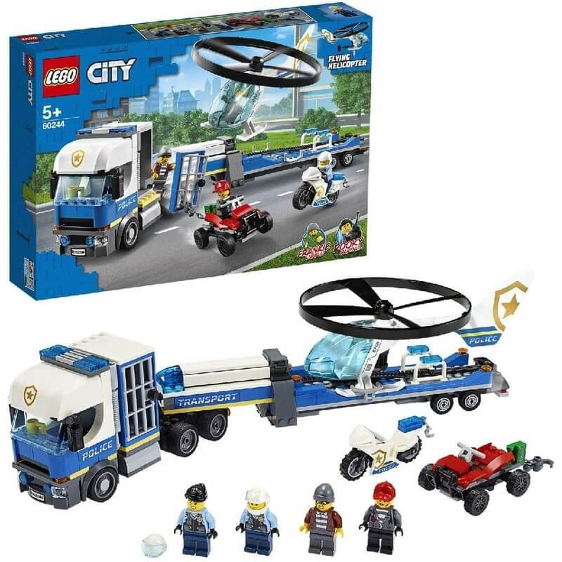 Lego City - Μεταφορικό Αστυνομικού Ελικοπτέρου (60244)