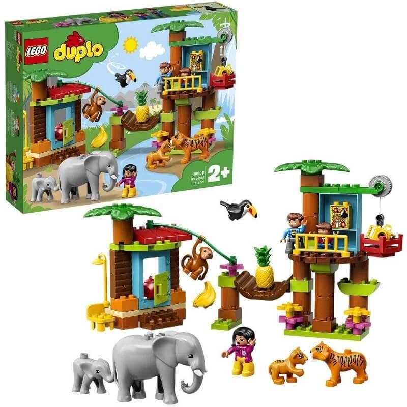 Lego Duplo - Τροπικό Νησί (10906)
