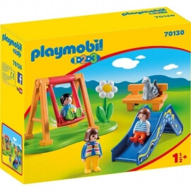 Playmobil Προσχολική Σειρά 1.2.3 Παιδική Χαρά (70130)