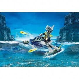 Playmobil Top Agents IV - Aqua Scooter της Shark Team (70007)