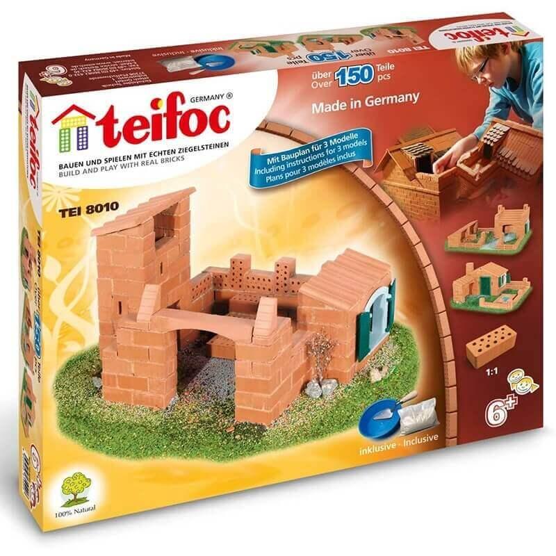 Teifoc - Κατασκευή Χτίζοντας με Πραγματικά Τουβλάκια