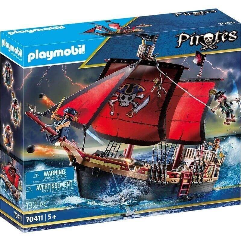 Playmobil Πειρατές - Πειρατική Ναυαρχίδα (70411)