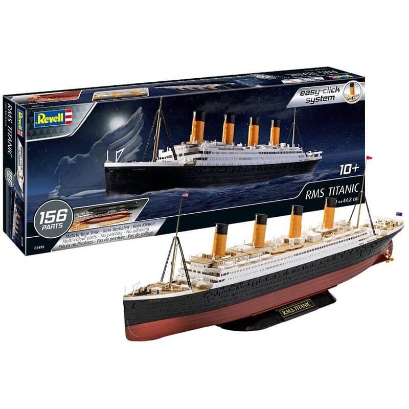 Κατασκευή RMS Titanic (Τιτανικός) Easy-Click 156 κομ.