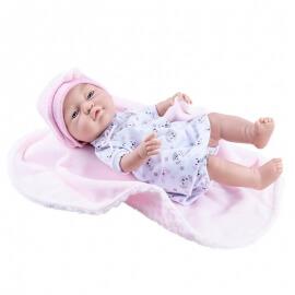 Μωρό Βινυλίου Κορίτσι Paola Reina Bebita 45εκ. με Κουβερτάκι