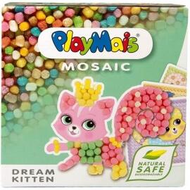 "Playmais Mosaic ""Παραμυθένια Γατούλα"" - Κατασκεύη από καλαμπόκι"
