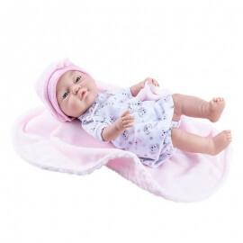 Σετ Ρούχα και Κουβερτάκι για Μωρό 45εκ. Paola Reina Bebita