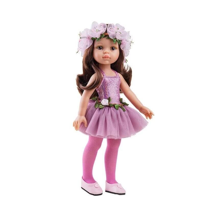 Σετ Ρούχα για Κούκλα 32εκ. Paola Reina Carol Bailarina