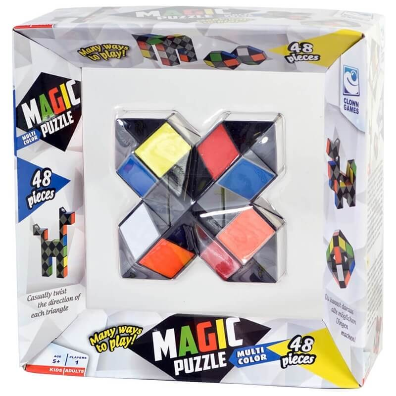 Σπαζοκεφαλιά Clown Magic Puzzle Multicolor