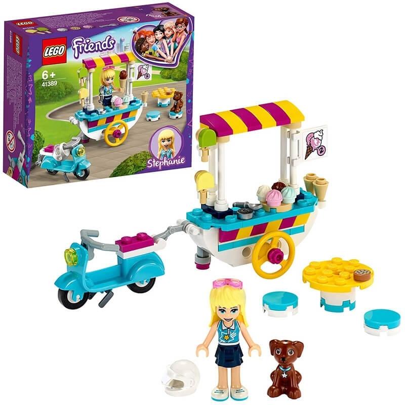 Lego Friends - Καροτσάκι με Παγωτά (41389)