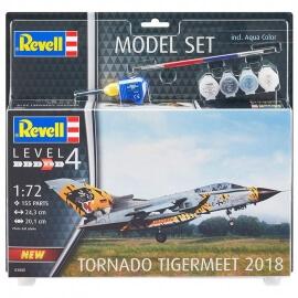 Πολεμικό Αεροπλάνο Tornado ECR Tigermeet 2018 σετ δώρου με χρώματα & κόλλα