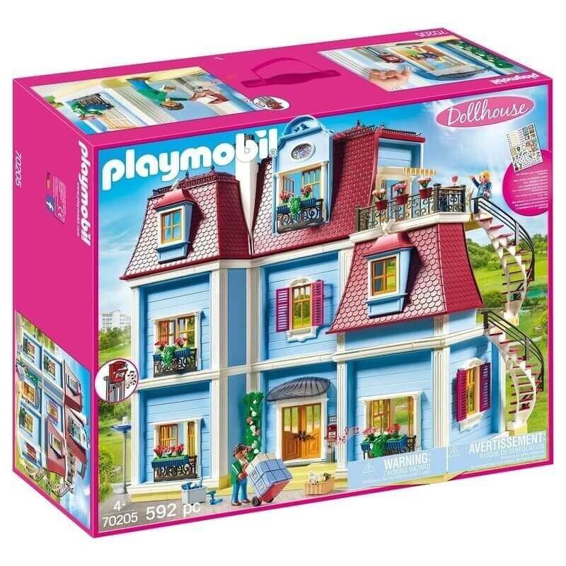 Playmobil - Τριώροφο Κουκλόσπιτο (70205)