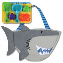 Παιδική Τσάντα για τη Θάλασσα με Παιχνίδια για την Άμμο - Καρχαρίας