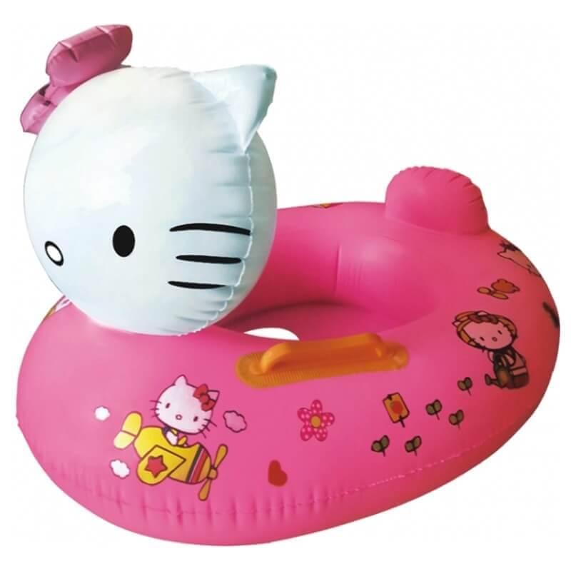 Φουσκωτό Σωσίβιο Κάθισμα Γατάκι Hello Kitty ροζ