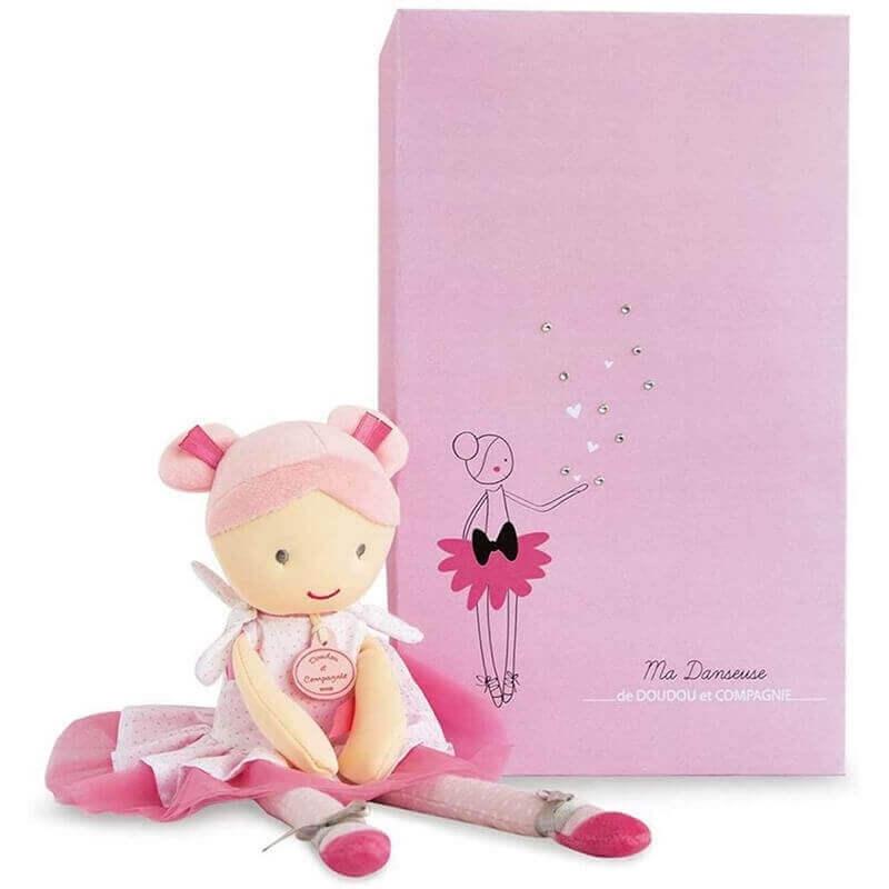 Πάνινη Κούκλα Μπαλαρίνα 36εκ. σε Κουτί Δώρου
