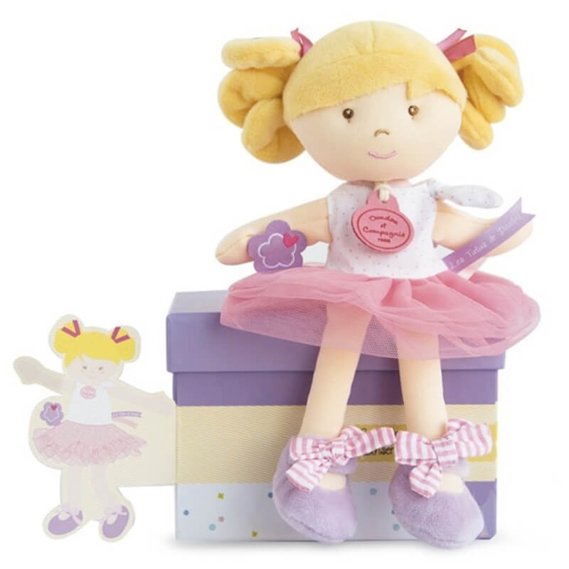 Πάνινη Κούκλα Μπαλαρίνα 23εκ. σε Κουτί Δώρου
