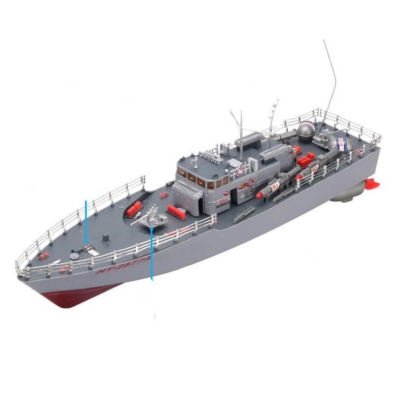 Τηλεκατευθυνόμενo Torpedo Boat  1/115 με φορτιστή