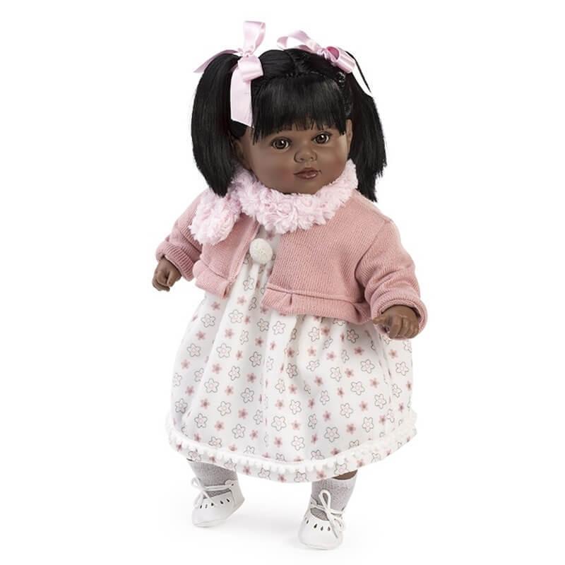 Κούκλα με Ήχους Carla με Σομόν Ζακέτα 52εκ.