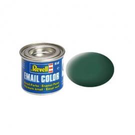 Χρώμα Μοντελισμού Revell 39 Σκούρο Πράσινο Matt Dark Green 14ml