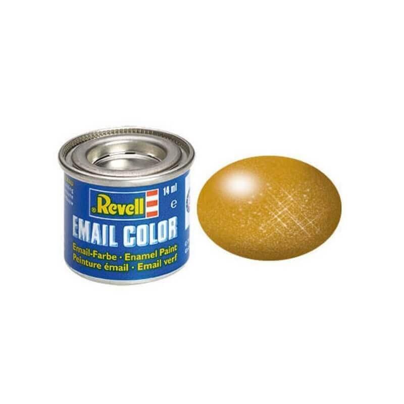 Χρώμα Μοντελισμού Revell 92 Χάλκινο Brass 14ml