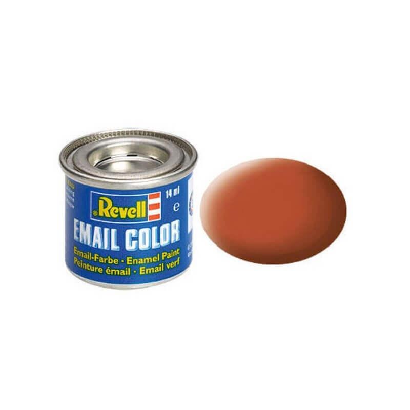 Χρώμα Μοντελισμού Revell 85 Καφέ Matt Brown 14ml