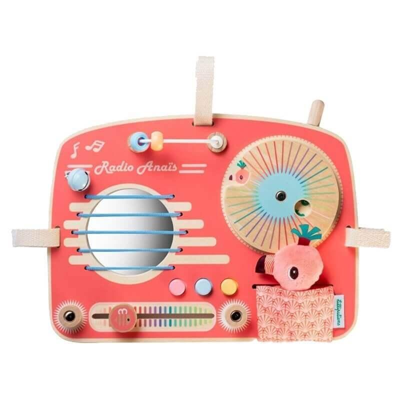 Ραδιόφωνο - Ξύλινος Πίνακας Δραστηριοτήτων Lilliputiens