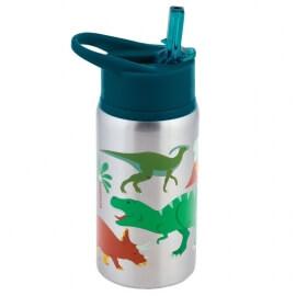 Stephen Joseph Ανοξείδωτο Παγούρι Flip Top Bottle Δεινόσαυρος